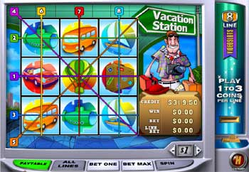 Multiline Video Slot
